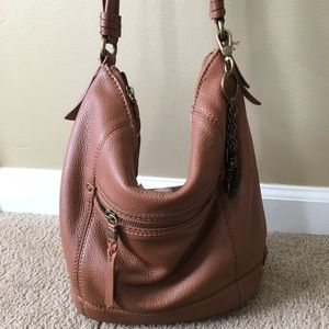 The Sak genuine Leather slouchy hobo